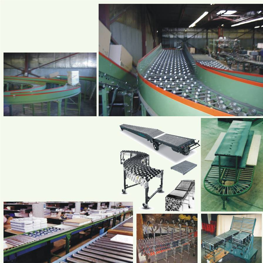Univeyor Gravity Conveyors